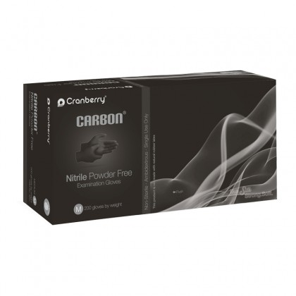 Cranberry 200's CARBON® Nitrile Powder Free Examination Gloves