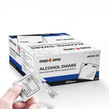 Medtopia Alcohol Swab 100's / 200's