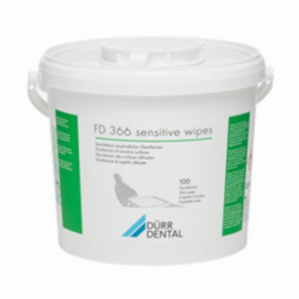 Dürr Dental FD 366 Sensitive Wipes 100's