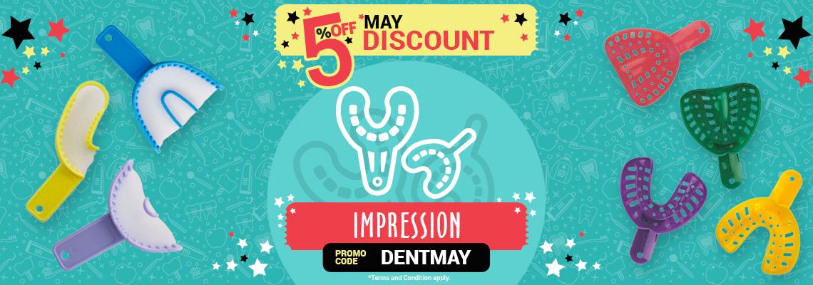 5% April Discount - Impression
