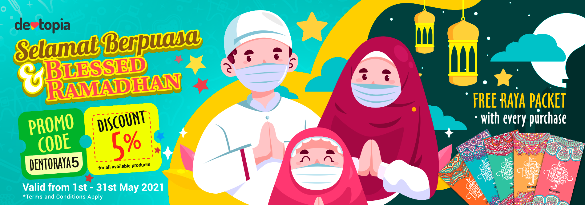 Selamat Berpuasa and Blessed Ramadhan